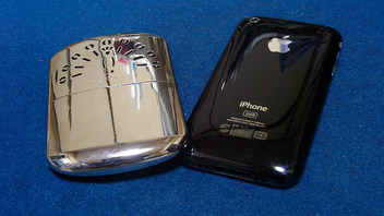 iPhoneとハクキンカイロ