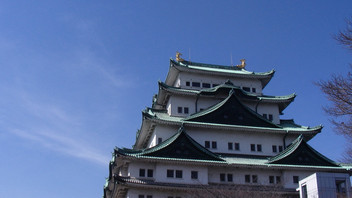 名古屋城の梅花1
