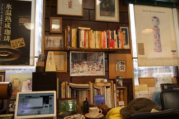 玉子屋にて−店内風景