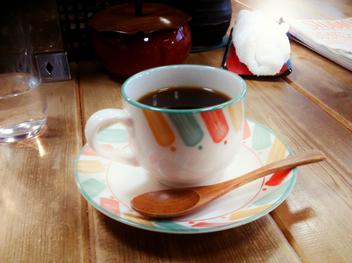 玉子屋にて−一杯のコーヒー